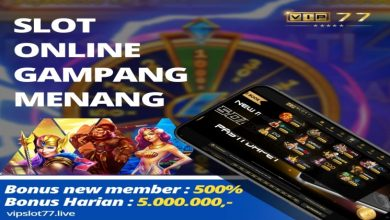 Photo of VipSlot77, One of Reliable Slot Online Indonesia Provider