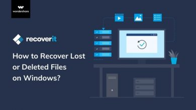 Photo of How to recover all your deleted files on your Mac with Wondershare Recoverit
